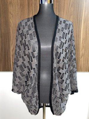 One Two Luxzuz Chaleco de punto negro-gris
