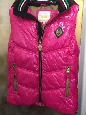 Miss Nickelson Hooded Vest multicolored