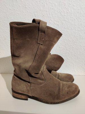 tolle Wildleder Boots