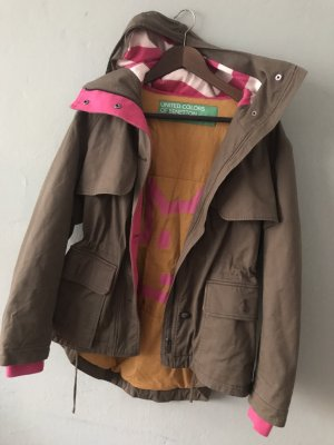 Benetton Winter Jacket ocher