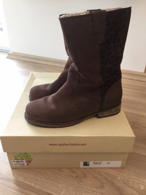Apple of eden Winter Boots dark brown