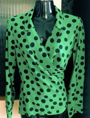 Tolle Zara Bluse Hemdbluse gepunktet Gr. XS/S Neu