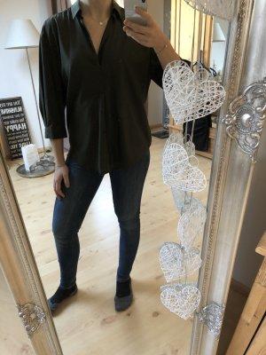 Tolle Zara Bluse im Safari Look