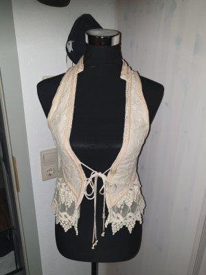 Zara Traditional Vest cream-beige
