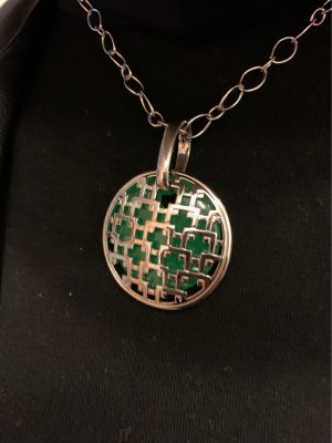 Pierre Lang Pendant silver-colored-green