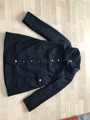 toller ausgefallener kurzer Mantel von Rainbow in Schwarz NEU
