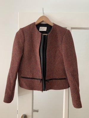 Sandro Blazer Tweed negro-rojo