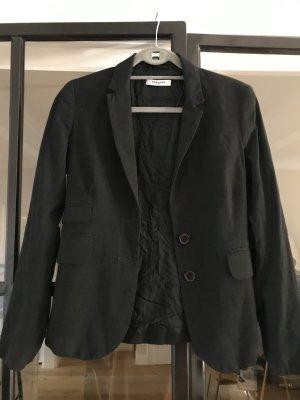 More & More Blazer en laine noir
