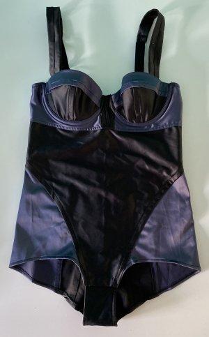 Sonia Rykiel for H&M Vestaglia nero-blu scuro Poliestere