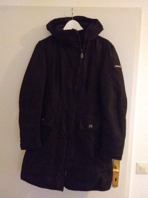 Peutery Down Jacket black mixture fibre