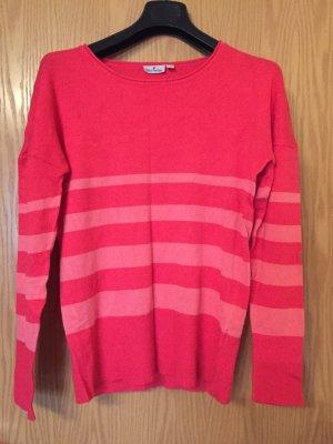 Blue Motion Kimono Sweater brick red-salmon viscose