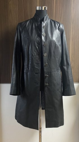 Almsach Folkloristische jas zwart