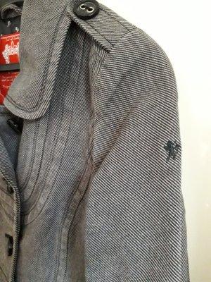 Edc Esprit Manteau court gris coton