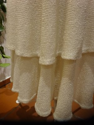 Flounce Skirt natural white
