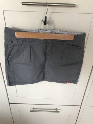Toller grauer Jeans-Minirock Gr. 36