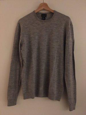 H&M Kraagloze sweater grijs