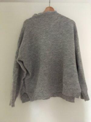 Amisu Pull tricoté gris clair