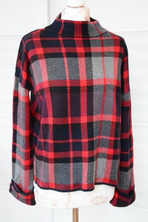 toller großkarierter Pullover Gr. 38 von Warehouse