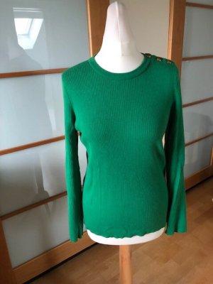 Lauren by Ralph Lauren Fine Knit Jumper green cotton