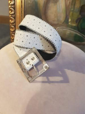 Hip Belt white-silver-colored