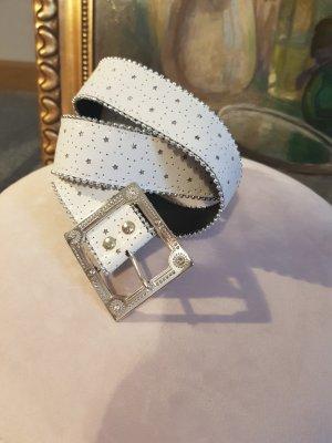 Cintura fianchi bianco-argento