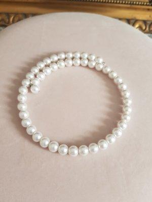 Avon Collar de perlas blanco-blanco puro