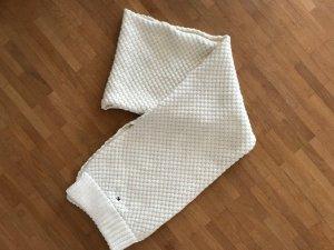 Hilfiger Gebreide sjaal licht beige Wol