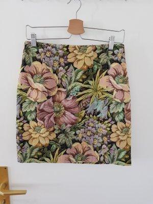 toller Jaquardrock mit Blumenmuster