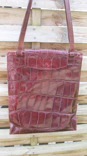 Toller Joop Shopper Tasche Xl Schultertasche Echt Leder Kroko Style