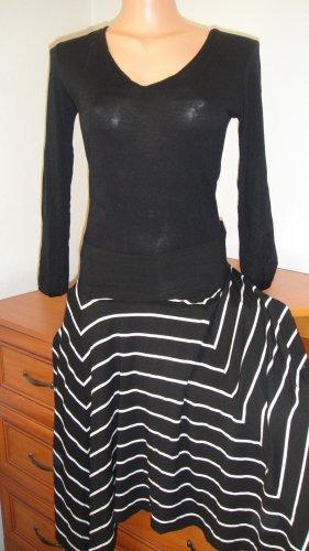 Dorothy Perkins Stretch Dress black-white spandex