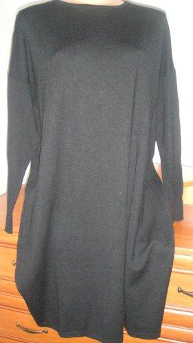 Chic & Pop Wełniana sukienka czarny Kaszmir