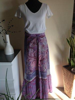 Edc Esprit Jupe longue multicolore coton