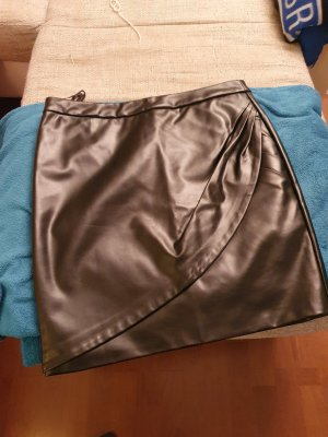 bpc bonprix collection Faux Leather Skirt black