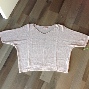 Short Sleeve Sweater dusky pink