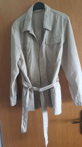 M&S Blazer largo crema