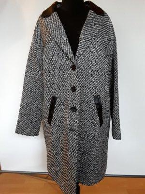 Aniston Manteau mi-saison blanc-noir polyester