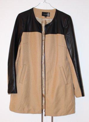 Attentif Coat black-light brown