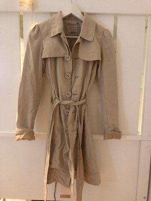 Castro Trench Coat beige mixture fibre