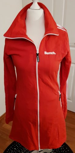 Bench Robe manteau blanc-rouge