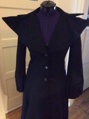 Gestuz Manteau en laine noir laine