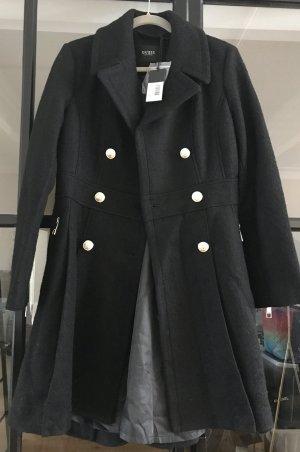 Guess Abrigo de lana negro