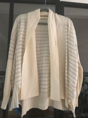 Delicate Love Knitted Cardigan cream-silver-colored cashmere