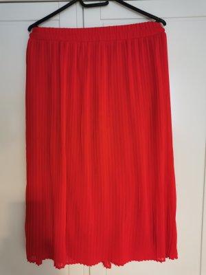 Vero Moda Jupe plissée rouge brique