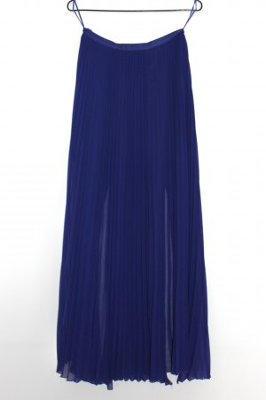 Oasis Jupe plissée violet foncé-bleu