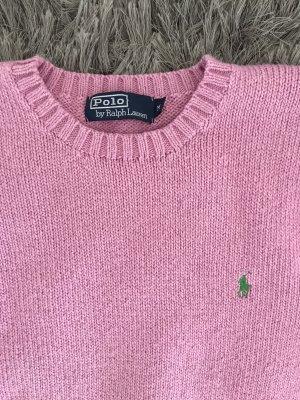 Polo Ralph Lauren Jersey de punto grueso rosa Algodón