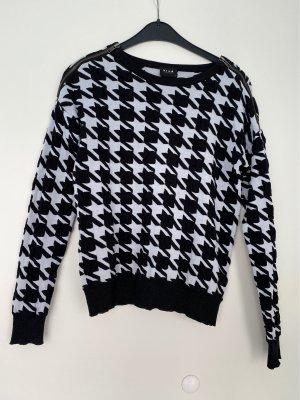 Vila Crewneck Sweater black-white