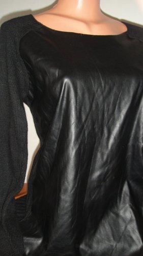 FREE / QUENT Kasjmier trui zwart Angorawol