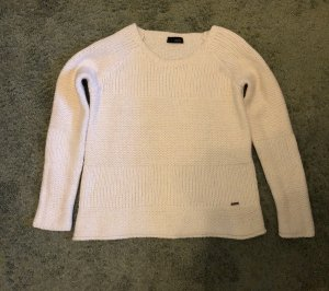 Cinque Coarse Knitted Sweater white