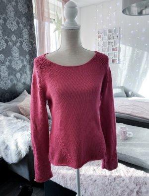 Toller Pullover in einem kräftigen Pink Gr M