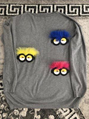1.2.3 Paris Crewneck Sweater light grey